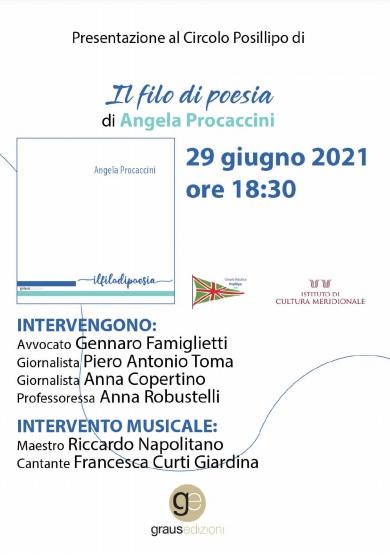 Il filo di poesia, di Angela Procaccini - presentazione