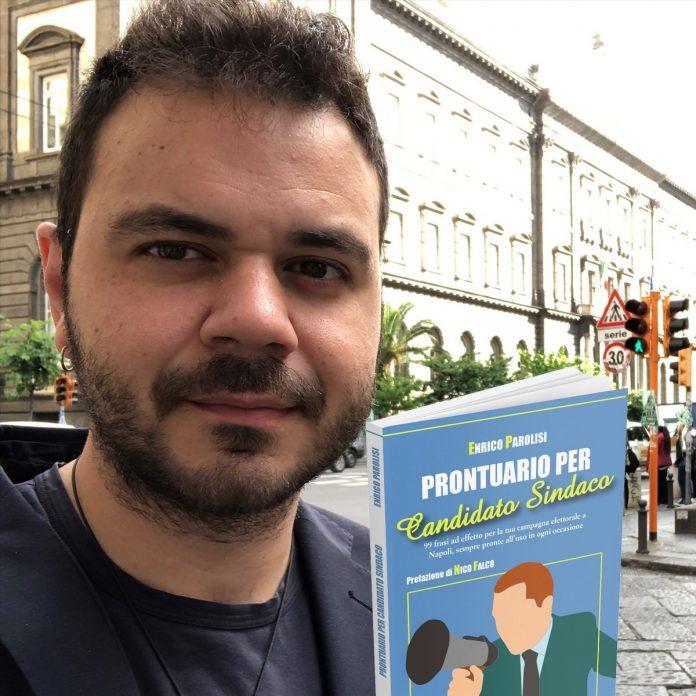 """Presentazione ufficiale del """"Prontuario per candidato sindaco"""", il decalogo di frasi fatte idea del giornalista Enrico Parolisi"""