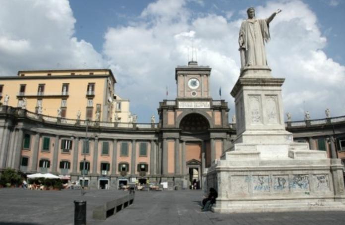 Piazza Dante Convitto Nazionale Vittorio Emanuele II