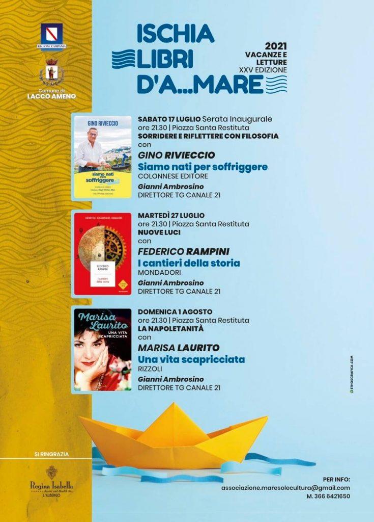 """XXV edizione rassegna letteraria Ischia libri d'A…mare"""""""