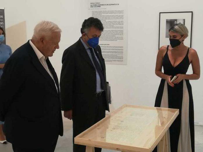 Pan, l'ambasciatore del Messico per mostra Frida Kahlo