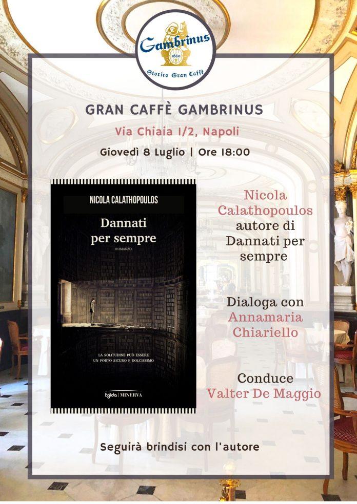 Al Gambrinus giovedì 8 luglio la presentazione del libro