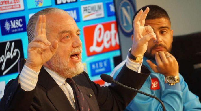 De Laurentiis torna a parlare del rinnovo di Insigne