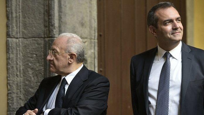 De Luca terzo tra i governatori più apprezzati in Italia
