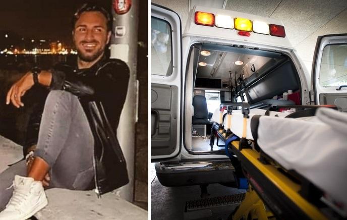 Ospedale Cardarelli, un'ambulanza per Mariano Panariello