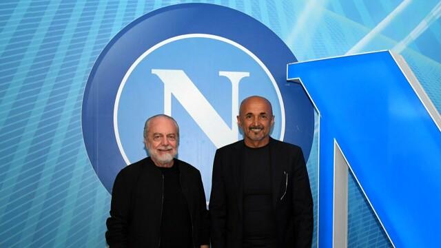 Spalletti a Napoli canta con i tifosi: