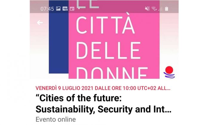 """""""Cities of the future: Sustainability, Security and Integration: a gender perspective"""""""
