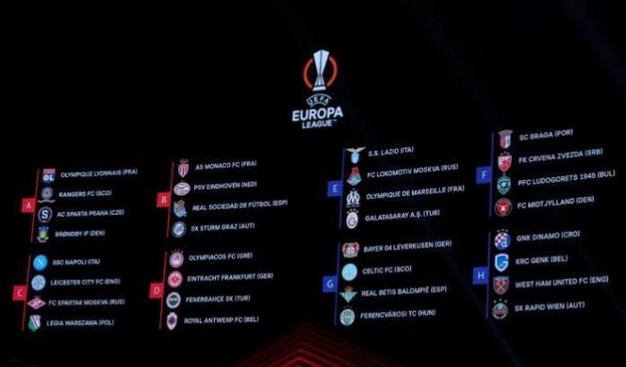 Napoli, il calendario completo del girone di Europa League