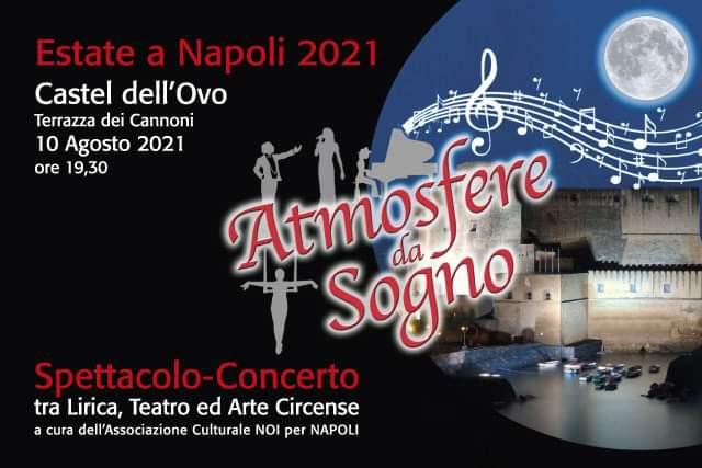 Atmosfere da sogno, la notte delle stelle a Napoli