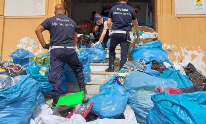 Operazione anticontraffazione alla Duchesca: maxi-sequestro