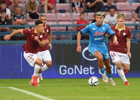 Napoli-Wisla Cracovia, vittoria in rimonta per gli azzurri