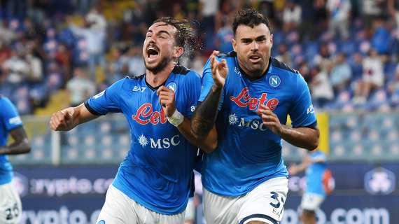Genoa-Napoli 1-2, Petagna entra e regala i 3 punti
