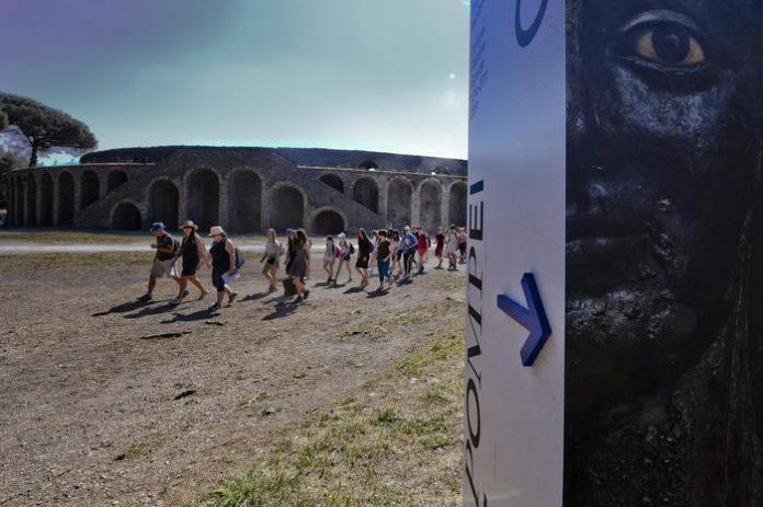 Nessun calo con il green pass a Pompei: visitatori in aumento