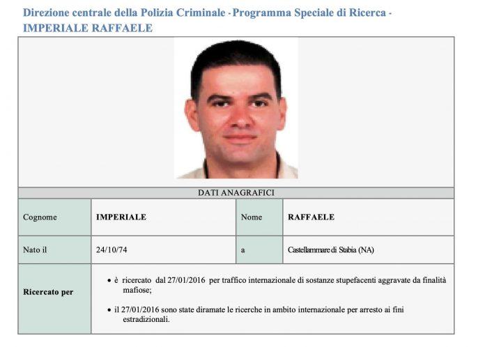 Raffaele Imperiale, arrestato a Dubai il boss di camorra