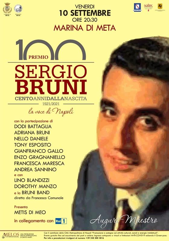 Meta di Sorrento, evento per il centenario della nascita di Sergio Bruni