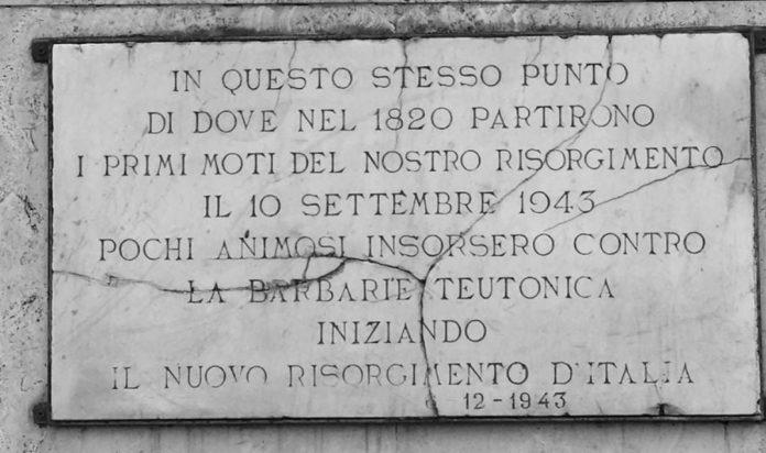 Il primo eccidio nazista in Italia: 10 settembre 1943