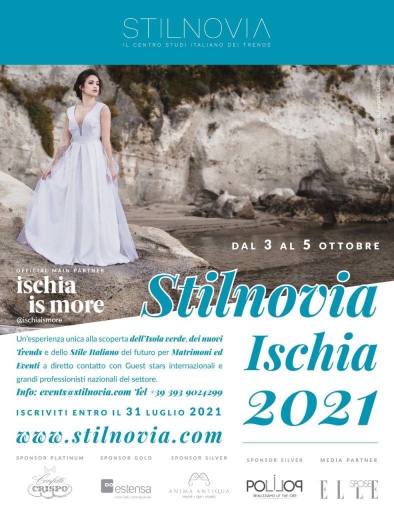Ischia, prima edizione di Stilnovia 2021 - Studi e anticipazioni sulle tendenze del wedding e degli eventi