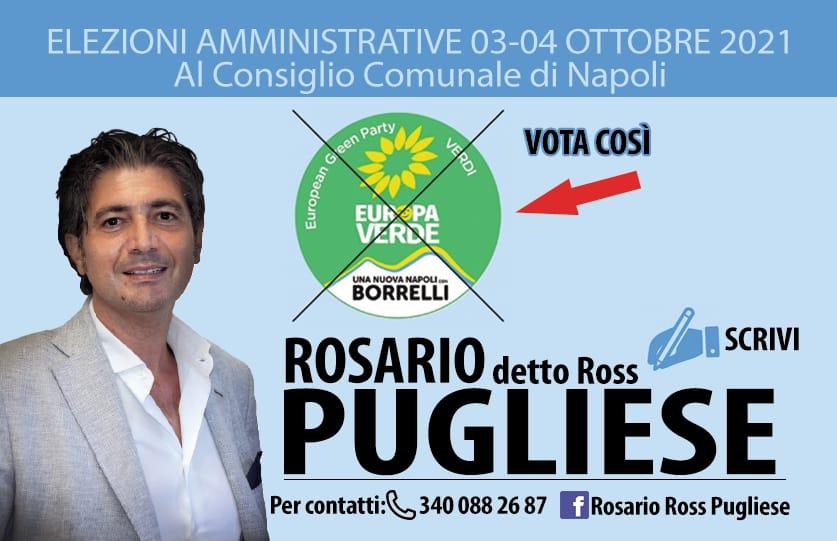 """Amministrative Napoli, Rosario Pugliese si candida coi Verdi: """"La città ha bisogno della mia generazione"""""""