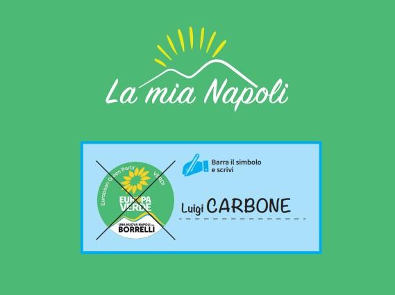 Amministrative Napoli, Luigi Carbone candidato con Europa Verde