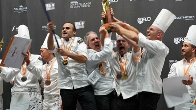 Pasticceria: Italia vince il campionato del mondo