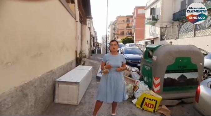 Mariarosaria Scala candidata alla X Municipalità con Alessandra Clemente sindaco