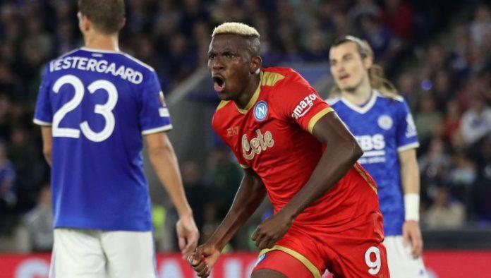 Leicester-Napoli 2-2: Osimhen show in Europa League