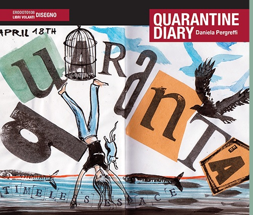 "Ricomincio dai libri, Daniela Pergreffi presenta ""Quarantine diary"" - VIDEO"
