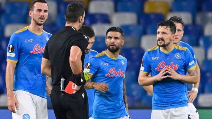 Napoli-Spartak Mosca 2-3, Mario Rui rovina tutto