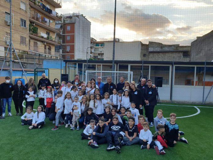 Napoli, campo di calcio al posto dell'ex zoo del boss